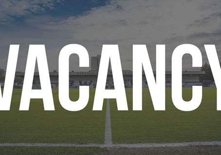 U19's MANAGER NEEDED