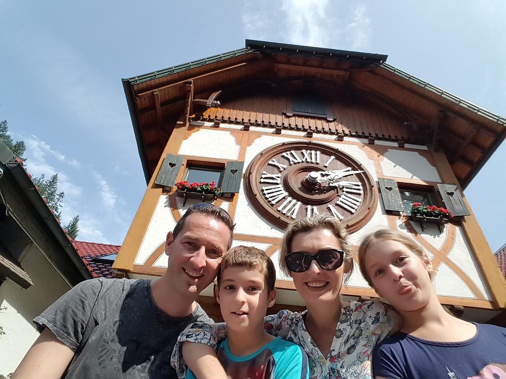 יער השחור ושעון הקוקיה הגדול בעולם בעיר בסמוך לעיר טריברג