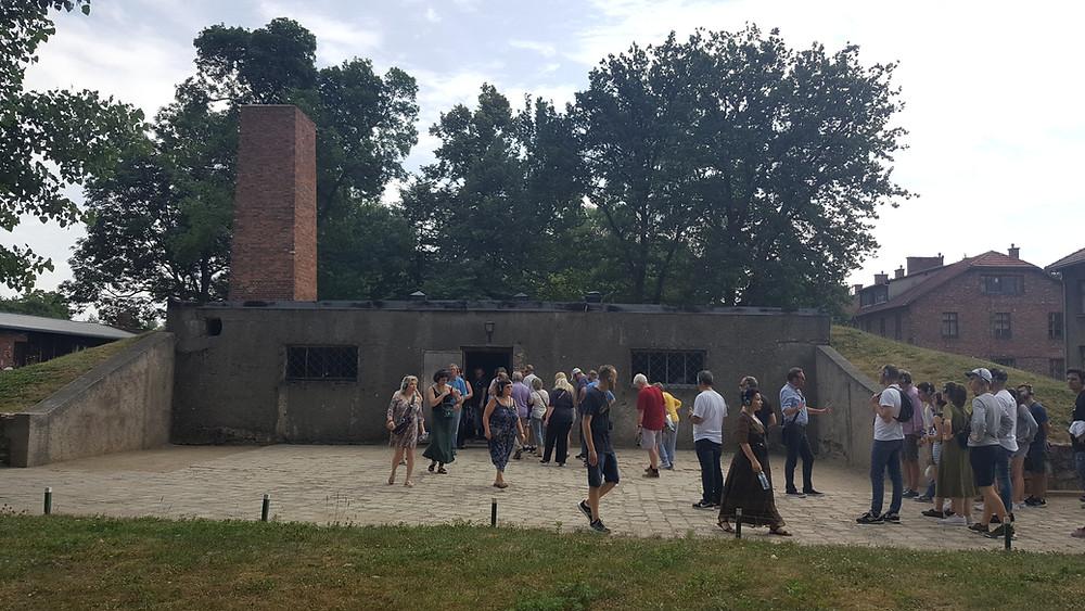 תא הגזים והמשרפה באושוויץ