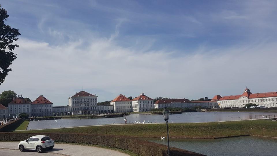 עיר מינכן וארמון נימפנבורג