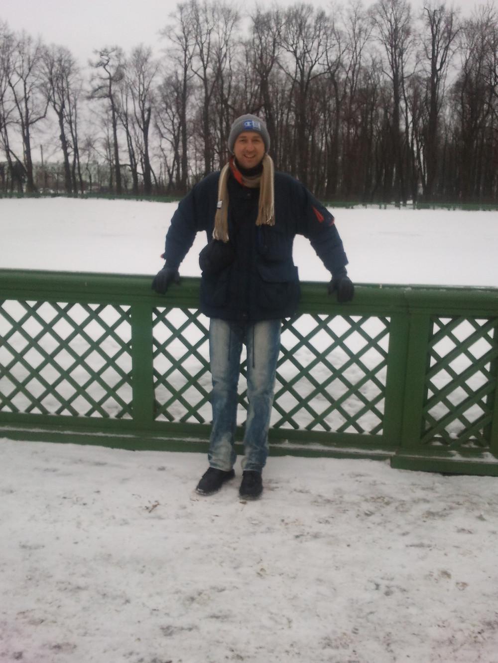 גן הקיץ החורפי במרכז העיר בסנט פטרסבורג