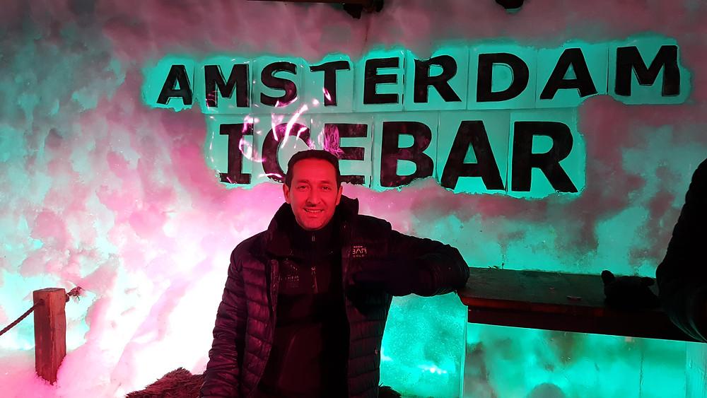 inside the amsterdam ice bar
