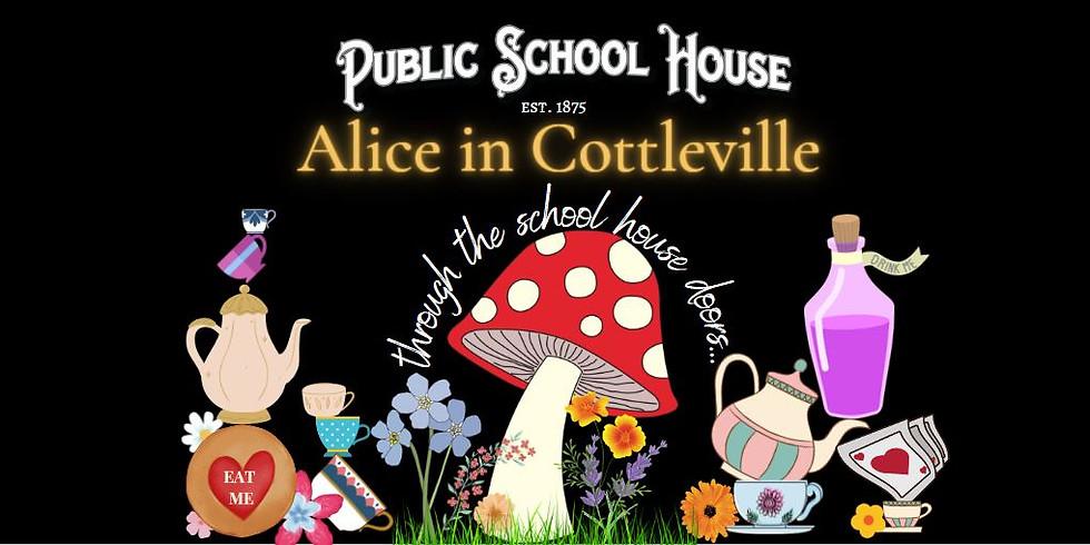 Alice in Cottleville Through the School House Doors POP UP Bar!!