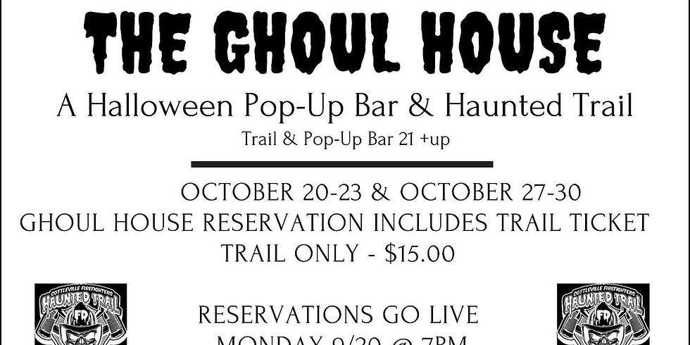 Ghoul House and Haunted Trail