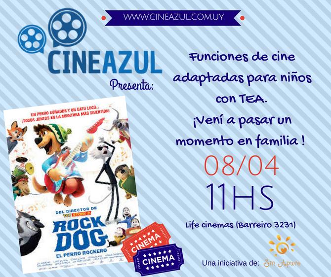 Cine Azul Rock Dog