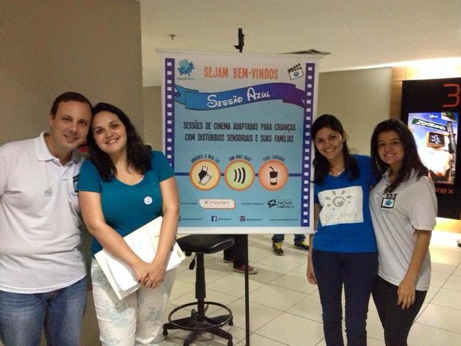 Convenio Sessão Azul y Cine Azul