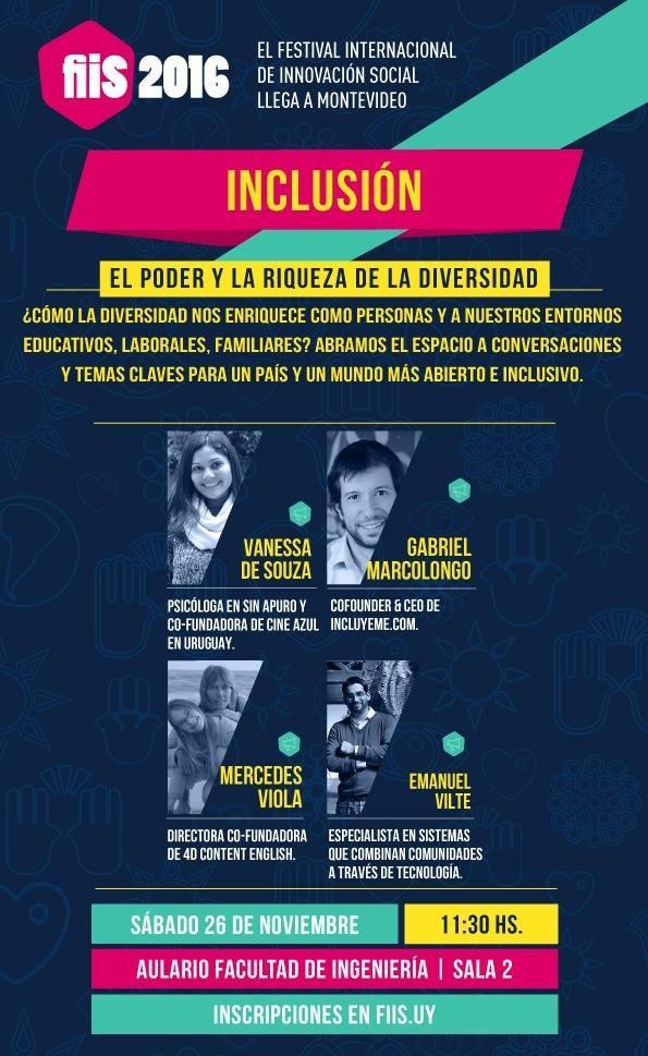 Cine Azul presente en el FIIS 2016 en Uruguay.