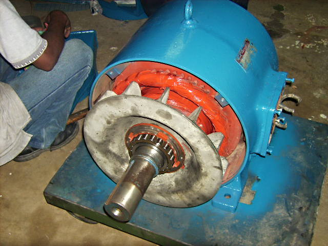 Electric Motor servicing
