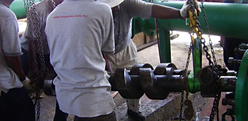Complete overhaul of Washington Pump