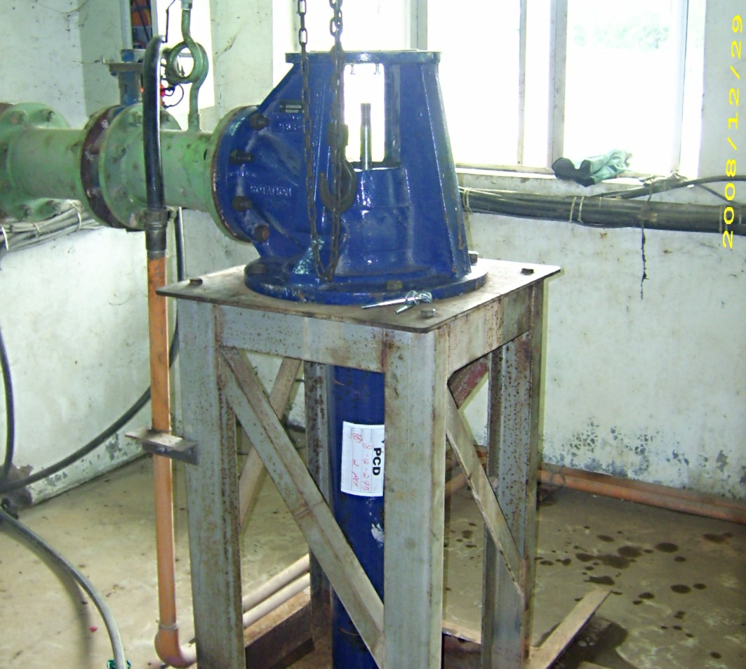 American Turbine Pump Installation
