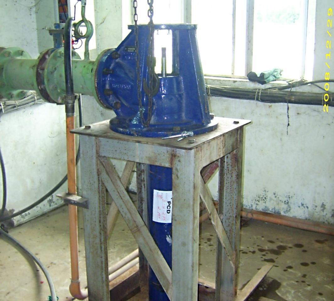 American Turbine Pump Installation