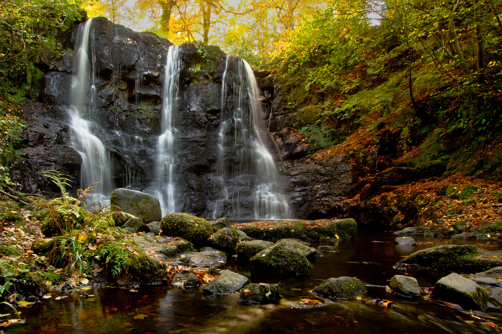 glenariffe waterfall