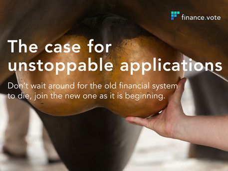 The case for unstoppable applications