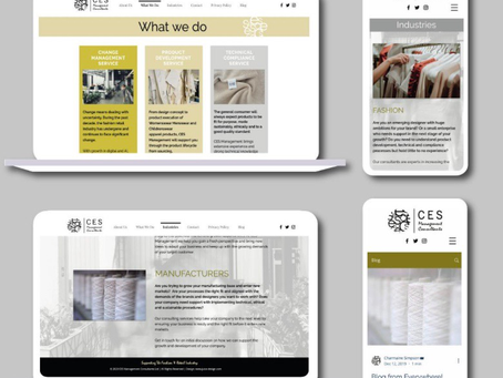 A website designed to showcase your new business in 6 easy steps using CMS templates ...