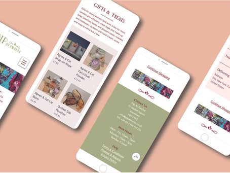 E-Commerce Website Design for Pip At Twelve Clothing and Accessories Shop in Amersham