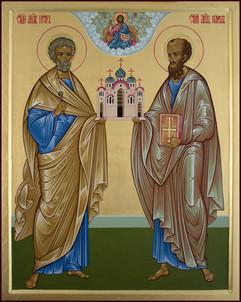 Heilige Apostel Petrus und Paulus