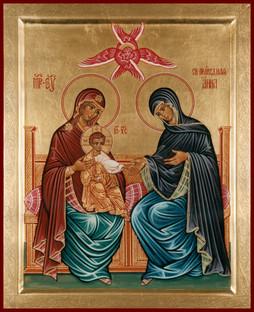 Hl. Anna mit Jungfrau Maria und Jesuskind (Anna selbdritt)