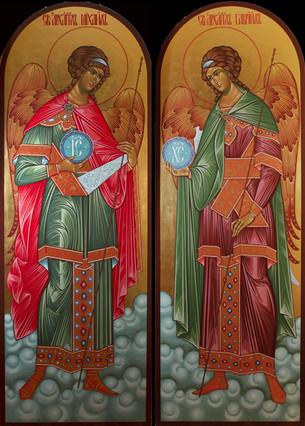 Archangels Michael and Gabriel