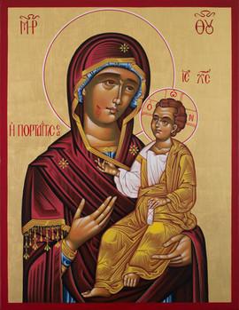 Gottesmutter von der Pforte (Die Myron spendende Ikone von Montreal)