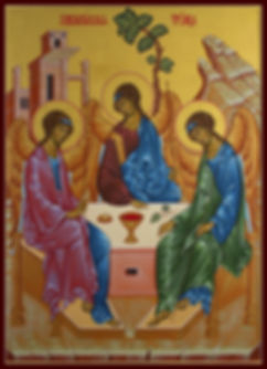 Holy Trinity by master iconographer Alexander Schlechow