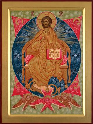 Christus in den Himmelskräften