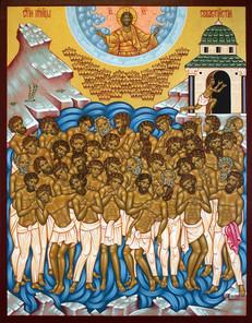 Die vierzig Märtyrer von Sebaste