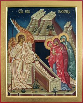 Die heiligen Frauen am Grabe Jesu