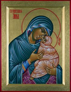 Die heilige gerechte Anna