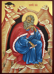 St. Prophet Elias in the Desert