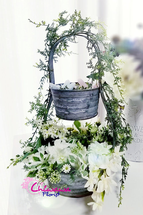 Secret garden in Basket