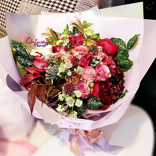 Sweet love bouquet for only one