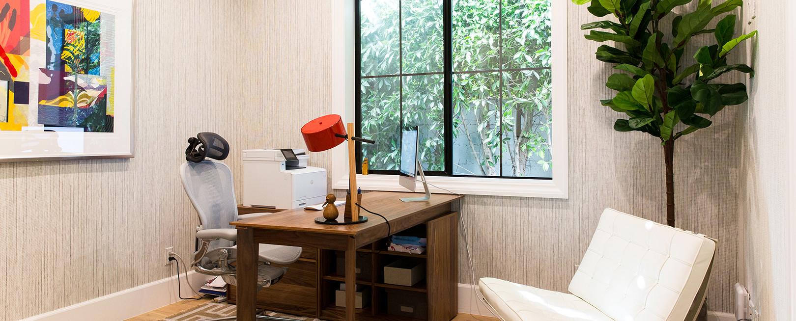 Modern Venice Farmhouse Home Office