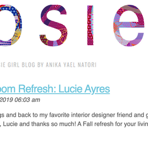 Josie Girl Blog Guest Post - Fall Refresh