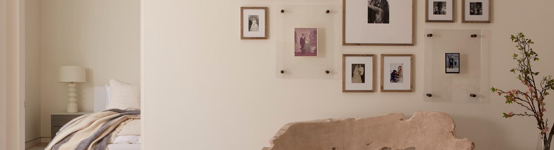 Studio City Hamptons Family Gallery Wall
