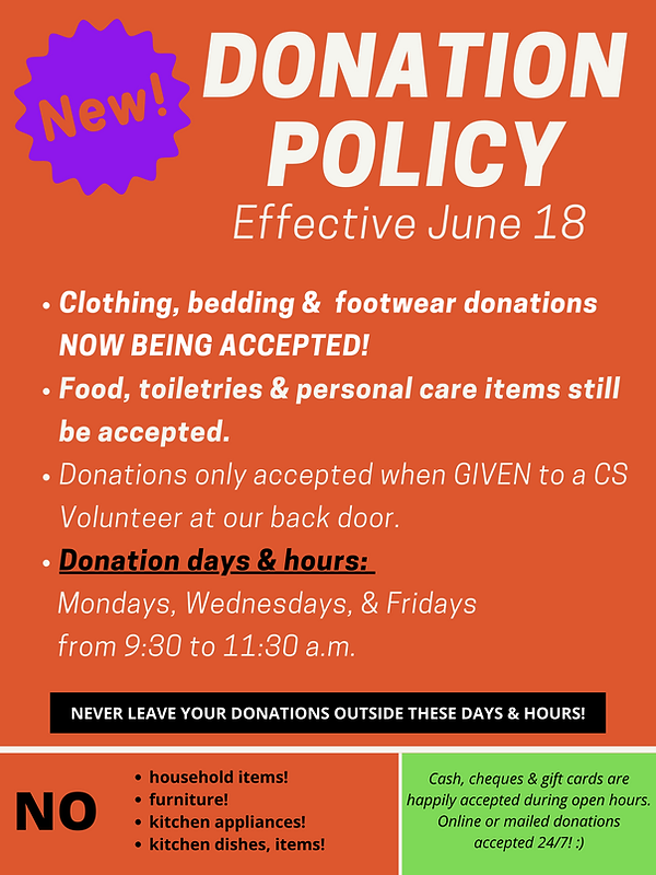 CS Donation Policy Poster-June 18.png