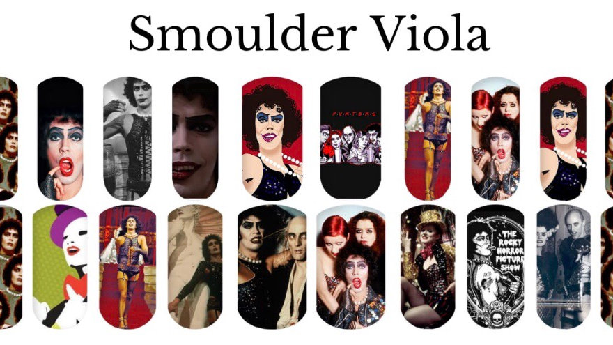 Rocky Horror Me - Nail Water Decals