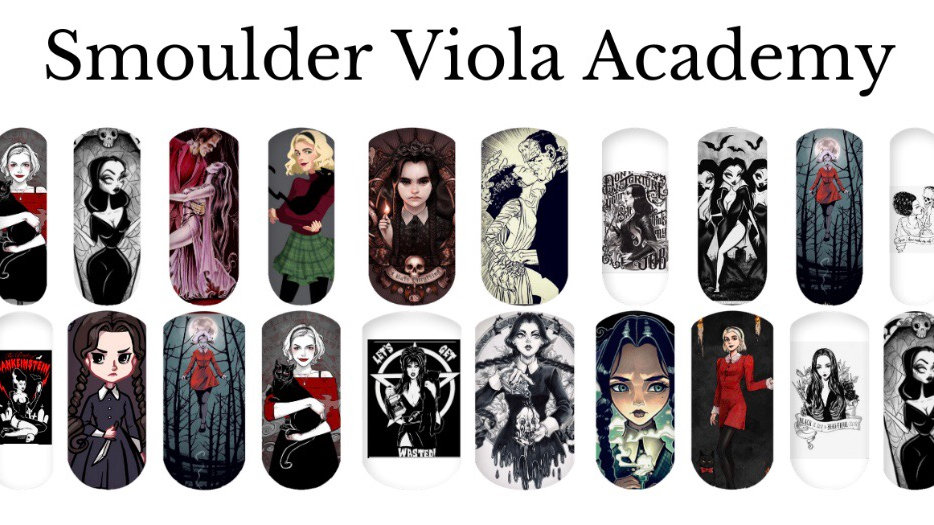 Ladies of the Night - Nail Water Decals