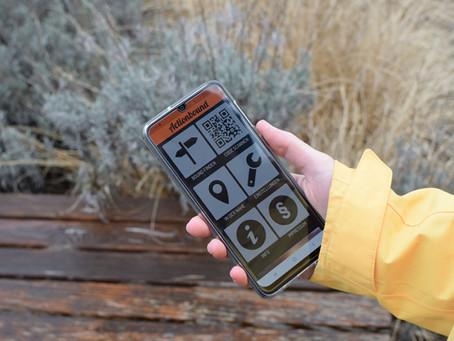 Schnitzeljagd mit Touchscreen