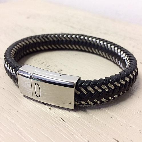 BRAIDED STEEL Bracelet