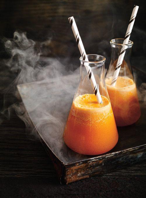 jus potiron carottes épices  Halloween Les Carnets de Vannes Morbihan