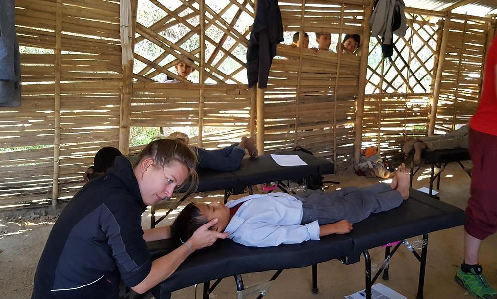 Aubérie Fresquet au Népal interview Sophie Croiger Nutritherapeute