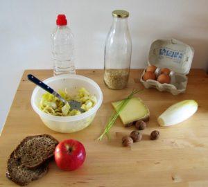 Repas équilibré pour pique-niquer