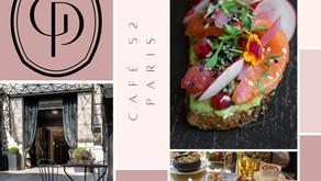 Le café 52 de l'hôtel Grand Powers à Paris: la parenthèse chic, healthy et gluten free friendly ! ✨