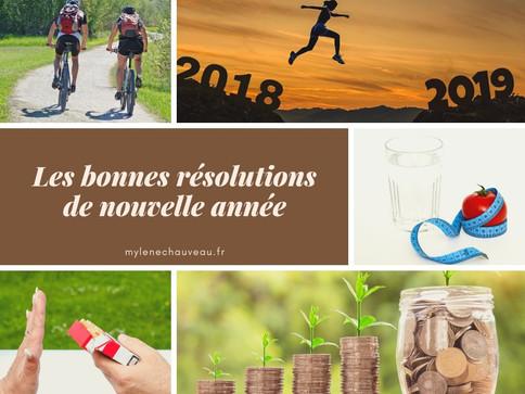 Les bonnes résolutions de nouvelle année