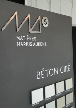 CAPAROL NANTES MARIUS AURENTI BETON CIRE