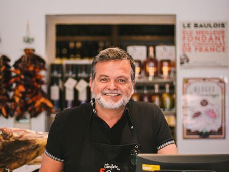 PORTRAIT #1 : Pascal Vandewalle, l'épicerie fine Le Comptoir des 5 Sens à Vannes