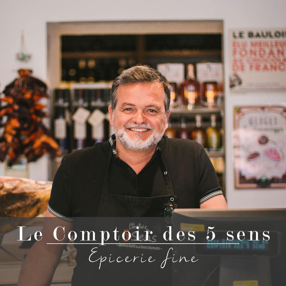 LE COMPTOIR DES 5 SENS