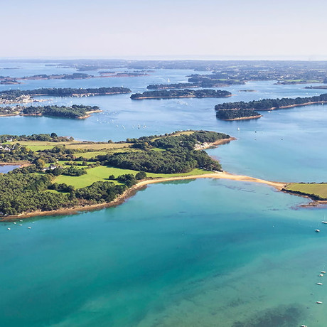A nous les belles terrasses du Golfe du Morbihan 🍸🍴!