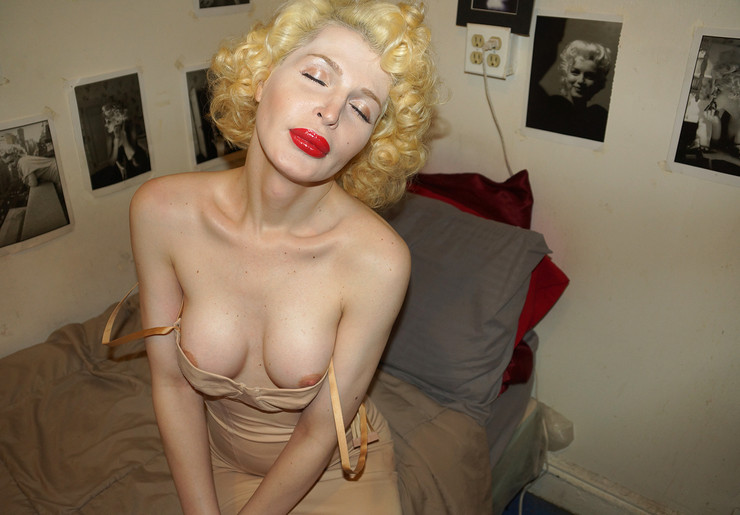 Mona's new breasts