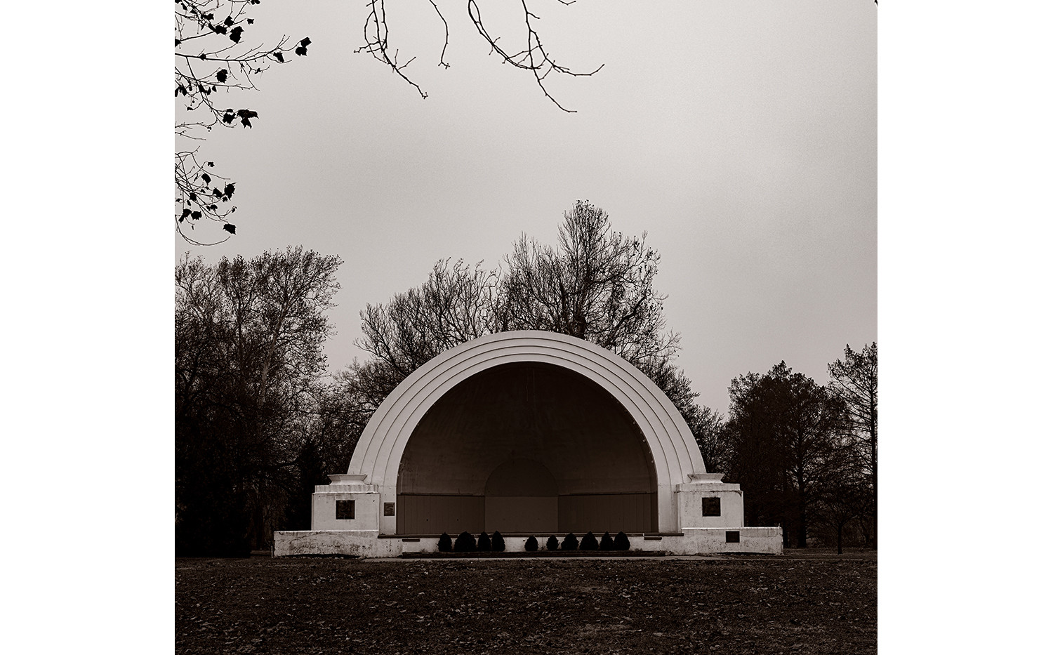 Abandoned band shell